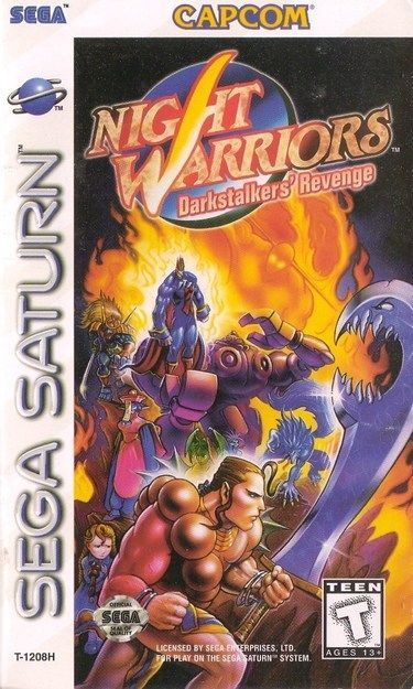 Night Warrior Darkstalkers' Revenge Sega...