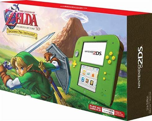 Nintendo 2DS Versão Zelda Ocarina of Tim...