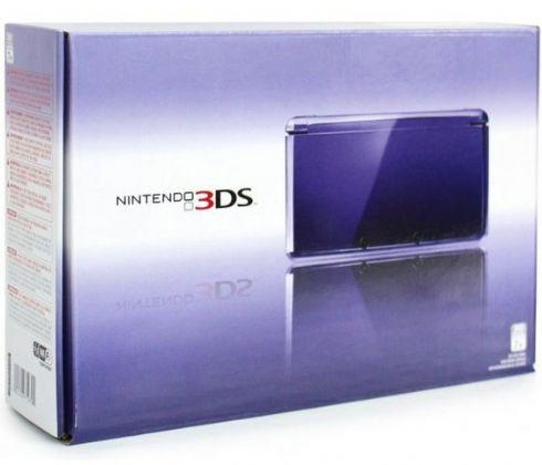Foto Nintendo 3DS Roxo DESTRAVADO (Seminovo)