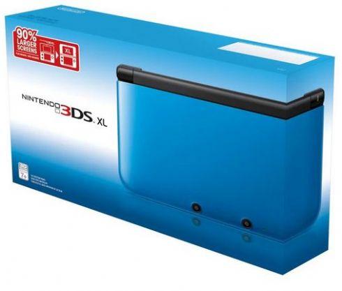 Nintendo 3DS XL Azul Dest...
