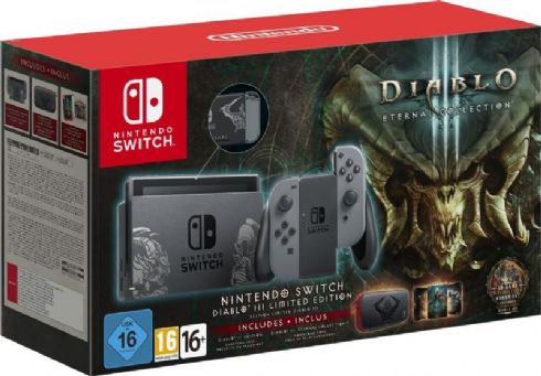 Nintendo Switch Bundle Diablo Eternal Co...