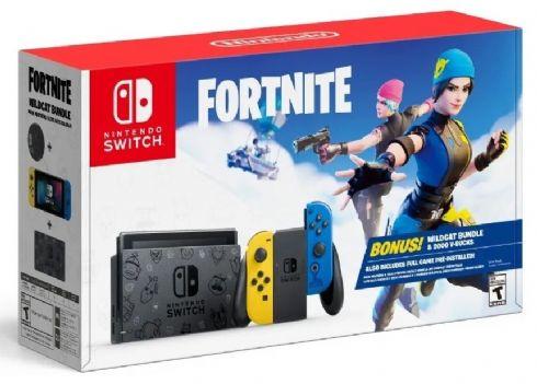 Nintendo Switch Bundle Fortnite + Frete...