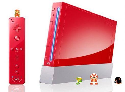 Nintendo Wii Vermelho (Se...