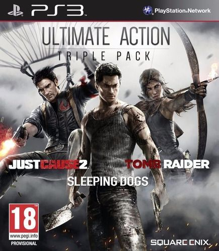 Foto Pacote Ultimate Action Triple Pack PS3 - Seminovo