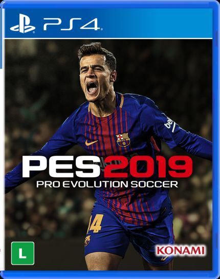 Foto PES 19 PS4 - Seminovo