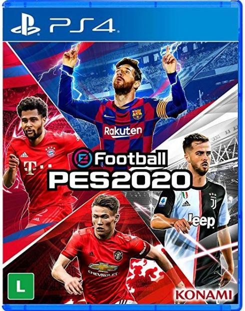 Foto PES 20 eFootball PS4 - Seminovo