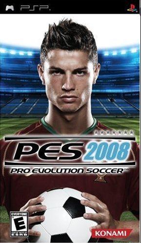PES 2008 PSP - Seminovo