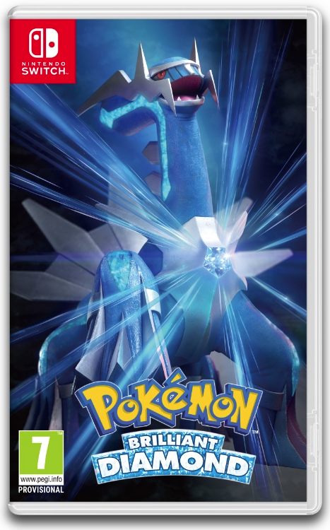 Pokémon Brilliant Diamond...