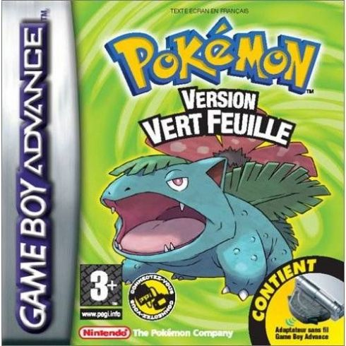 Pokemon Leaf Green Versio...