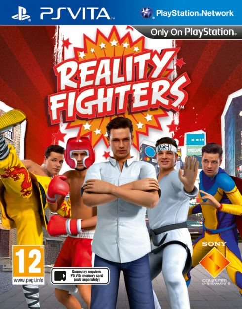 Reality Fighters PsVita -...