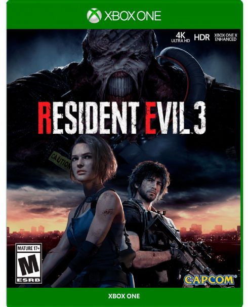 Foto Resident Evil 3 Remake XBOX ONE
