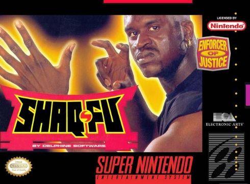 Shaq Fu Super Nintendo -...