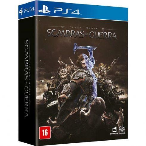 Sombras da Guerra PS4 - Edição Brasil
