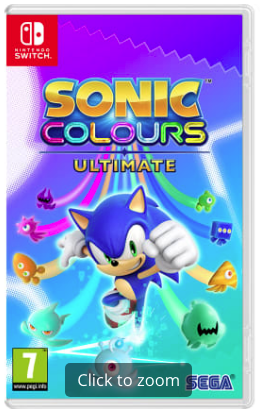 Sonic Colours Ultimate Launch Edition Ni...