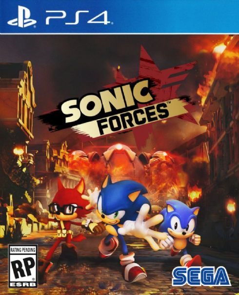 Sonic Forces  PS4 - Semin...