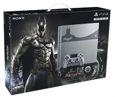 Foto Sony Playstation 4 Bundle Batman LIMITED + 3 Anos de Garantia - Seminovo