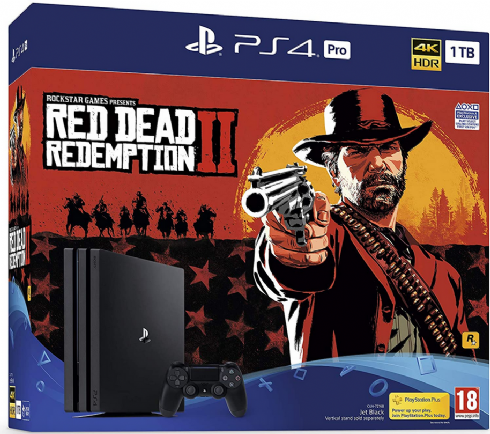 Sony Playstation 4 Pro 1TB + Red Dead 2...