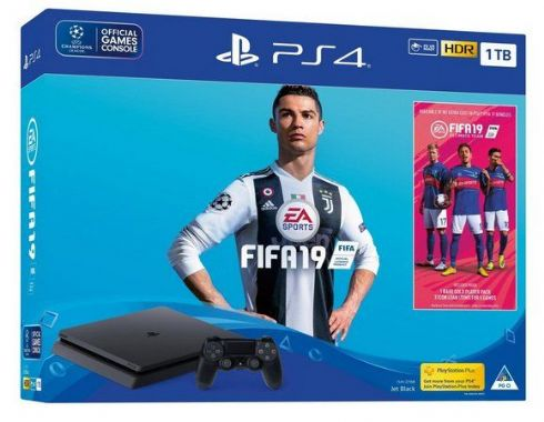 Sony Playstation 4 Slim 1TB + FIFA 19 +...