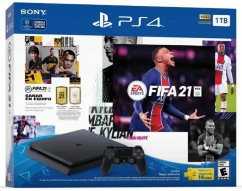 Sony Playstation 4 Slim 1TB + FIFA 21 +...