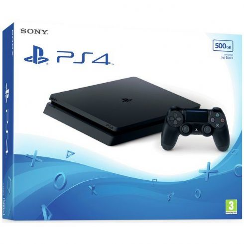 Sony Playstation 4 Slim 500GB + Jogo + F...