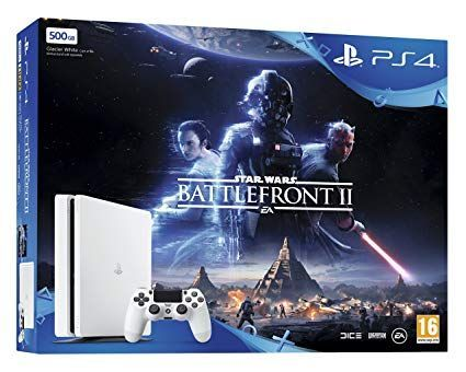 Sony Playstation 4 Slim 500GB White  Bun...
