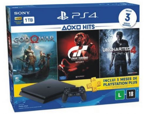 Sony Playstation 4 Slim Bundle 1TB HITS...