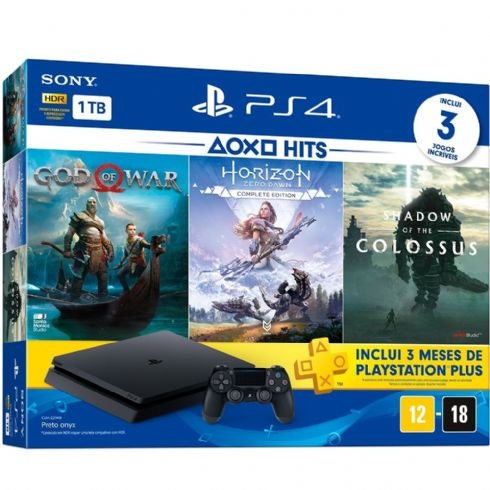 Foto Sony Playstation 4 Slim Bundle HITS 5 + 3 Anos de Garantia ZG! ULTIMAS UNIDADES
