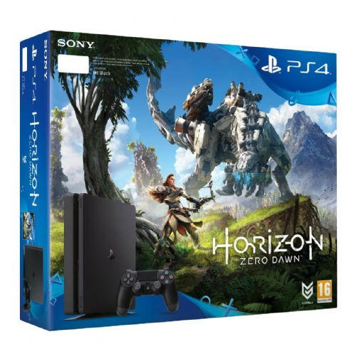 Sony Playstation 4 Slim Bundle Horizon Z...