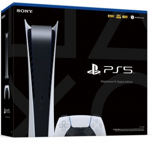 Sony Playstation 5 Digital Edition + Fre...