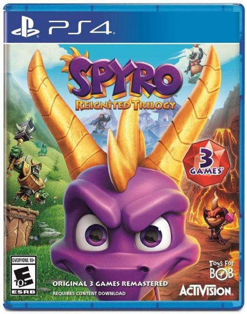 Spyro Reignited Trilogy P...