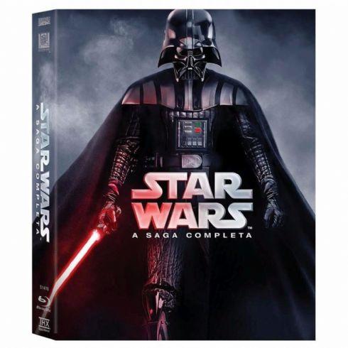 Foto Star Wars A Saga Completa - 9 Blu-Rays - Lacrado - Original