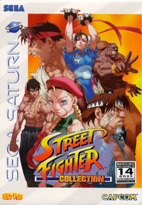 Street Fighter Collection Sega Saturn -...