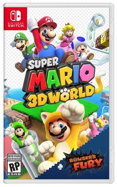 Super Mario 3D World + Bowser's Fury Nin...