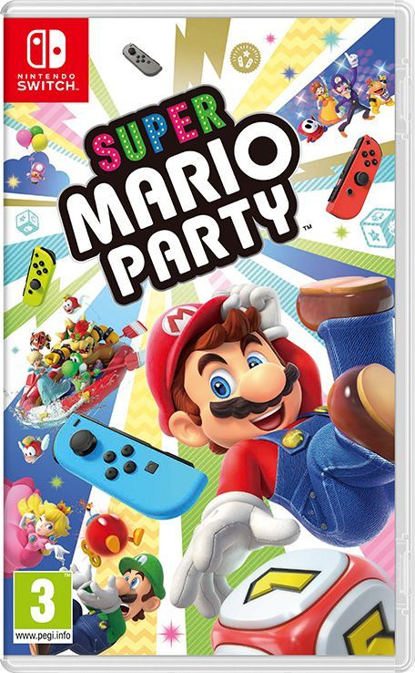 Foto Super Mario Party Nintendo Switch - Seminovo