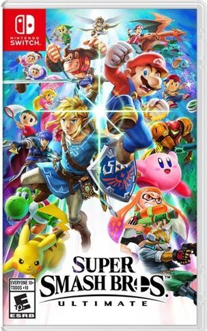 Foto Super Smash Bros. Ultimate Nintendo Switch - Seminovo