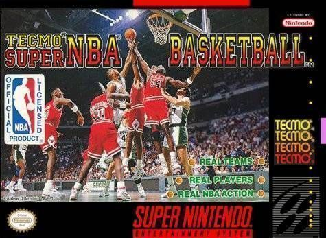 Tecmo Super NBA Basketbal...