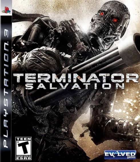 Terminator Salvation PS3...