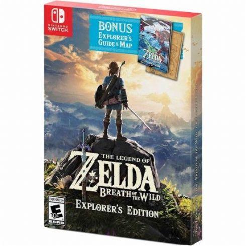Foto The Legend of Zelda: Breath of The Wild Explorers Edition Nintendo Switch - Seminovo