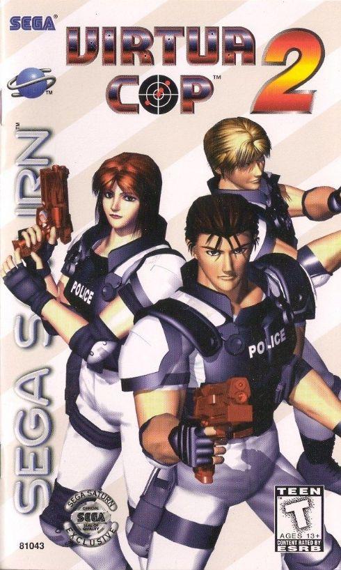 Virtua Cop 2 Sega Saturn...
