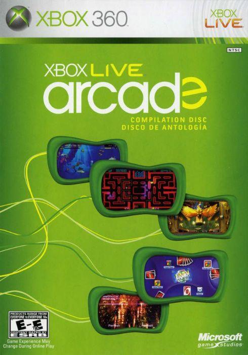 XBOX Live Arcade XBOX 360...