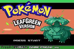 Foto Pokemon Leaf Green Version (Seminovo) GameBoy Advance