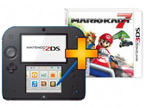 Foto Nintendo 2DS + Mario Kart 7 Vermelho