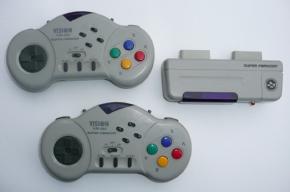 Foto Controle Sem Fio Vision Para Super Famicom
