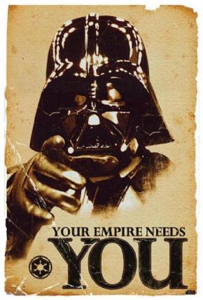 Foto Placa Decorativa Vintage Games 45x30 - Star Wars - 01