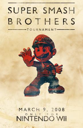 Foto Placa Decorativa Vintage Games 45x30 - Mario - 02