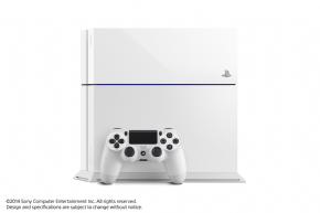 Foto Sony Playstation 4 Branco + 3 Anos de Garantia ZG! (Seminovo)
