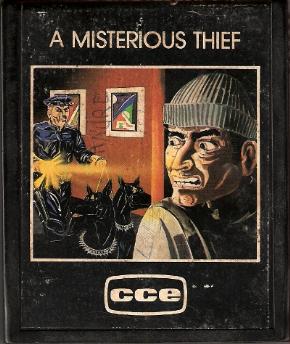 Foto A Mysterious Thief (Seminovo) Atari