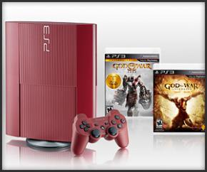 Foto Playstation 3 HD 500GB Bundle God of Ascesion + 3 Anos Garantia ZG! (Seminovo)