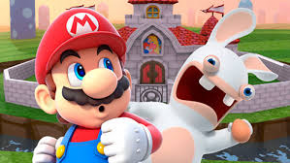 Foto Mario + Rabbids Kingdom Battle Nintendo Switch - Seminovo