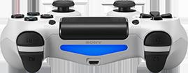 Foto Controle Sony Playstation 4 - Dual Shock 4 - Branco